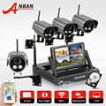 ANRAN Plug&Play WIFI Surveillance NVR Kit Wireless 7Inch Screen 1TB HDD 720P HD Outdoor Weatherproof Security Camera CCTV System