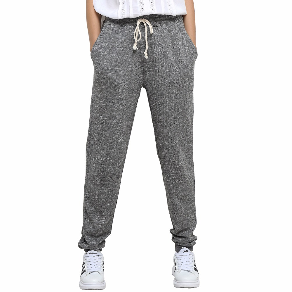 af9fe4cd4 Sports Pants Female Gray Sweatpants Women's Pants Hot Sweat Pants Womens  Loose Trackpants Trousers Sumer Black