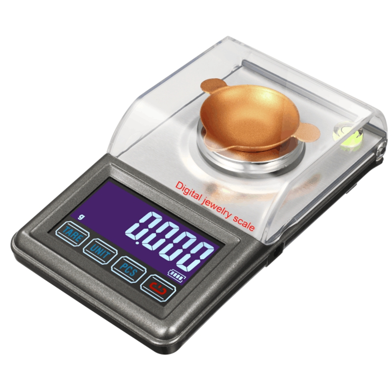 0.001g 20g Pocket Jewelry Gem Powder Scale Digital Electronic Kitchen Scales Lab Weight Balance White Backlight With USB Power 500g x 0 01g digital precision scale gold silver jewelry weight balance scales lcd display units pocket electronic scales