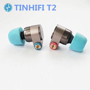 Image 2 - TINHIFI T2 In Ear Earphones dynamic drive HIFI bass earphone metal 3.5mm headset with Replaceable cable TINHiFi P2 T4 T3 T1 P1