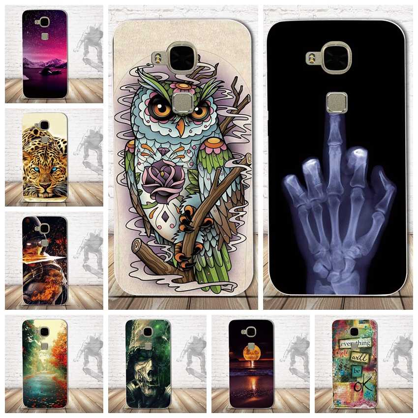 Soft TPU Case For Huawei G7 Plus Case Huawei GX8 D199 Case Silicon Back Cover For Funda Huawei G7 Plus D199 Case For HUAWEI G8