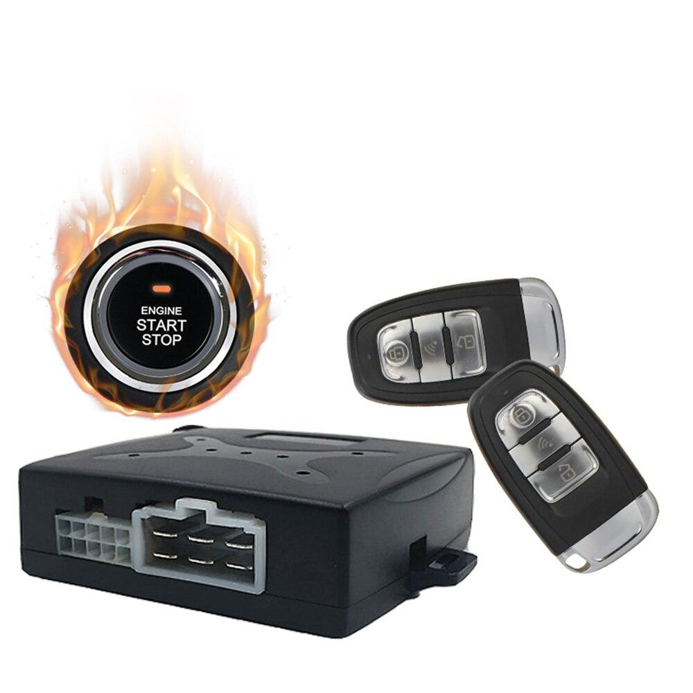 Système d'entrée sans clé de voiture À Distance bouton-poussoir Start Stop interrupteur de contact PKE DY270-2