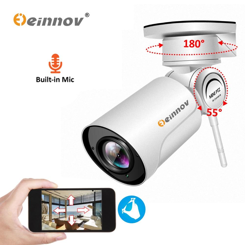 Einnov PTZ Wifi IP Camera 1080P 960P 4X Zoom CCTV Home Security Camera Outdoor Video Surveillance