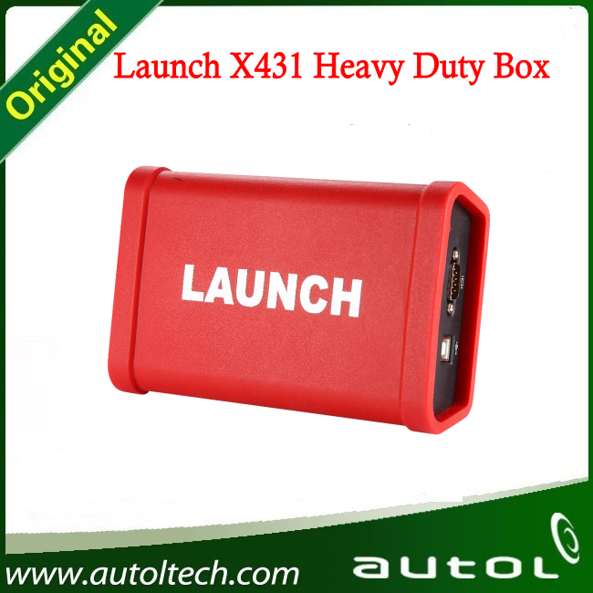 Heavy-Duty Adapter Box Fault Truck Diagnostic Tool LAUNCH X431 HD Heavy Duty Truck Software Free Update On Line  цены