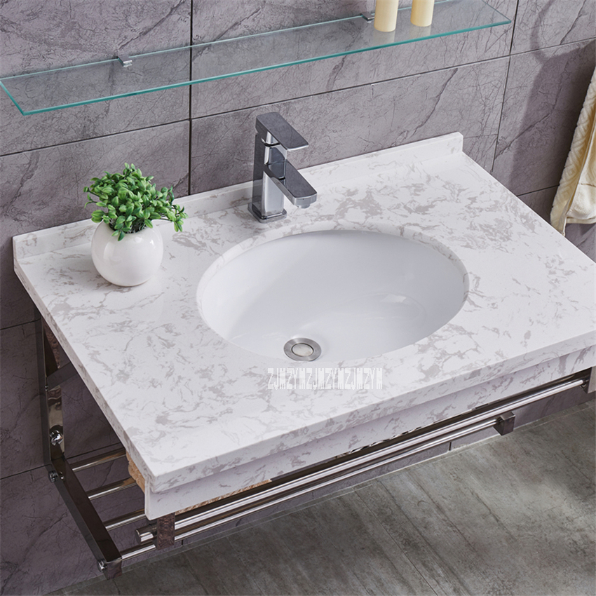 Dls001 Toilet Vanity Combo Mirror Cabinet Wall Mounted Type Cabinet Bathroom Cabinet Ceramics Basin Washroom Storage Cabinet Bathroom Sinks Aliexpress