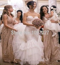 Sweetheart Elegant Lace Wedding Dress Sweep Train Tiered Skirt White/Ivory Bridal Gowns From China AS45
