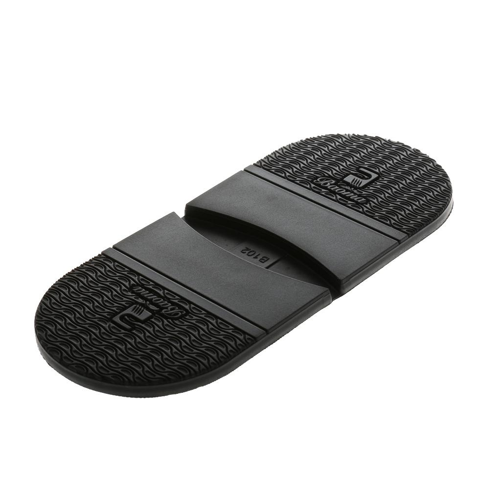 Rubber Shoes Heel Anti Slip Shoe Repair Replacement Supplies Black Thickness Unisex Foot Pads Insole Heel  One Size 6.5mm