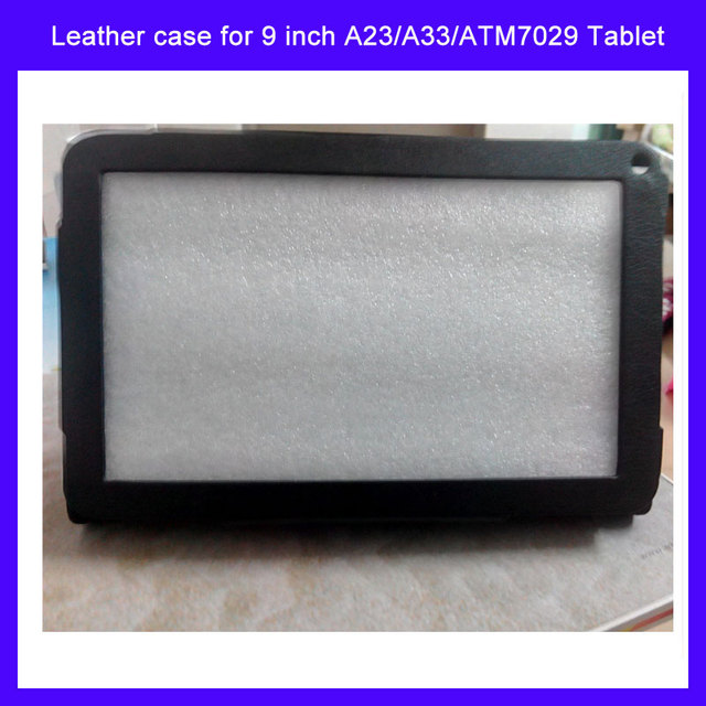 "Special Leather Case Stand Cover For 9"" inch Android Tablet PC MID Allwinner A13 A20 A23 Actions ATM7021 ATM7029 tablet"