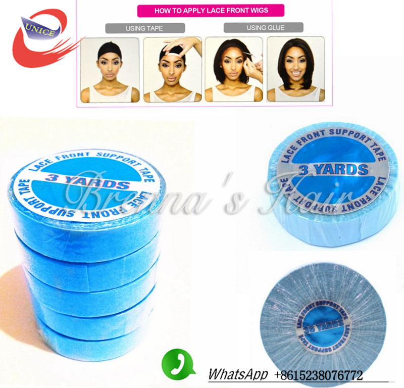 Fast Free Shipping Lace Front Tape Strong Blue Ultra Hold Tape Hair