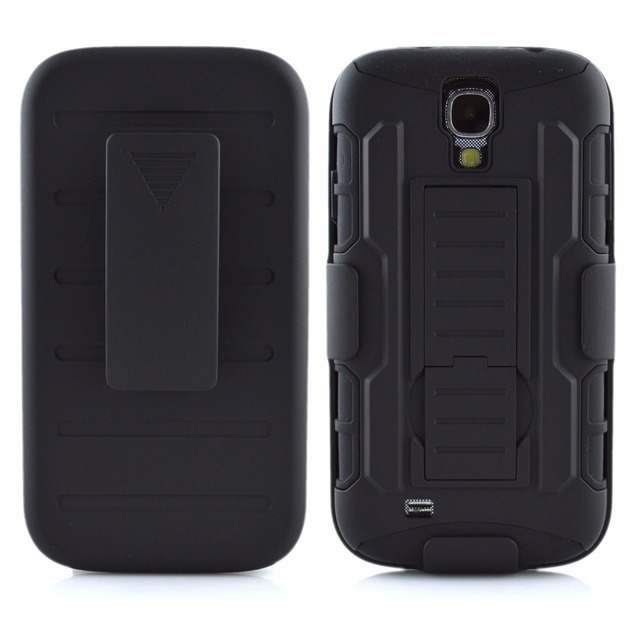 premium selection 20618 6832e US $4.99 |Future Armor Hybrid Case Military Combo Cover For Samsung Galaxy  S4 Mini i9190 Stand Cases Triple Full Black Coque Fundas-in Fitted Cases ...