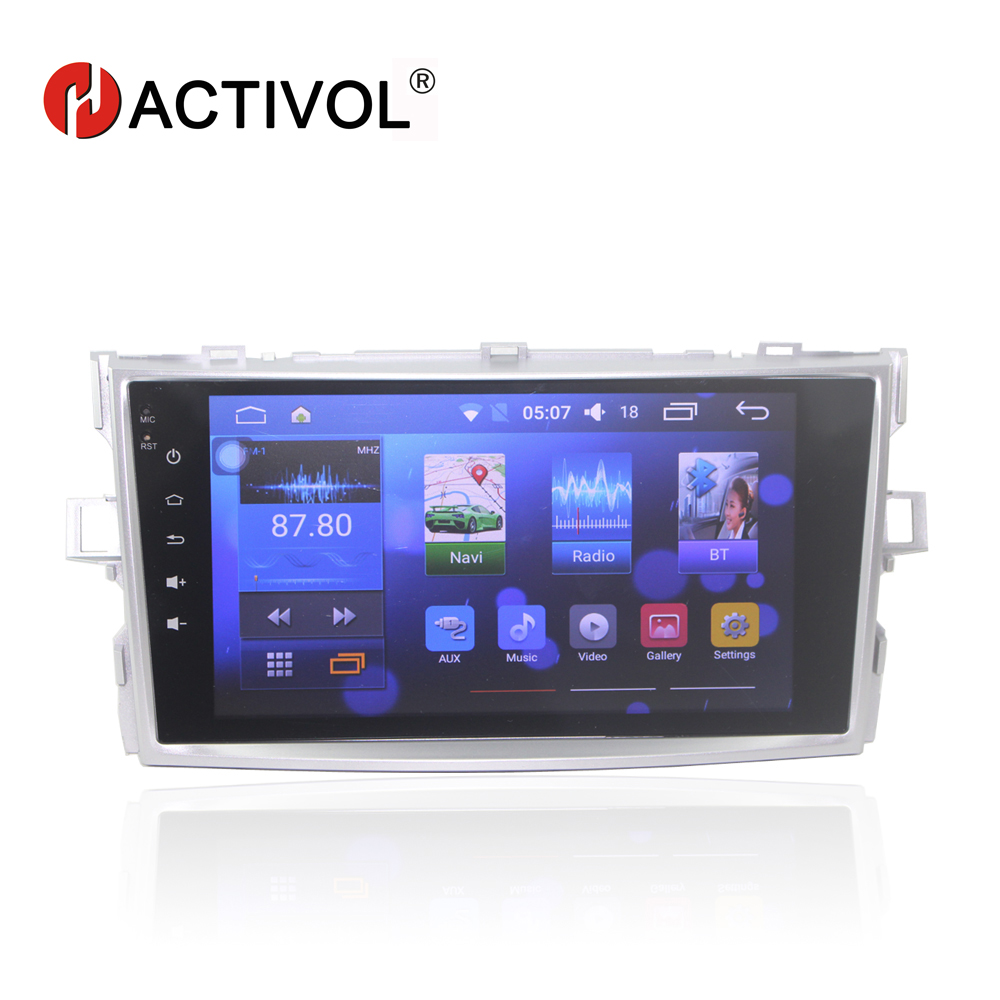 Bway 8 car radio stereo for Toyota Verso E'Z android 7.0 car dvd player with bluetooth,GPS,SWC,wifi,Mirror link,DVR покрывало на кресло les gobelins mexique 50 х 120 см