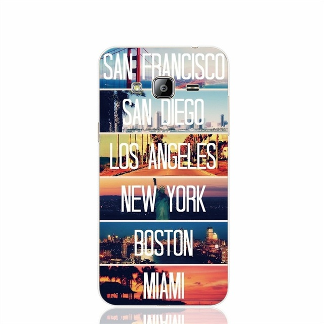 San Francisco  Los Angeles New york phone case for Samsung Galaxy J1 J2 J3 J5 J7 MINI ACE 2016 2015 ON5 ON7