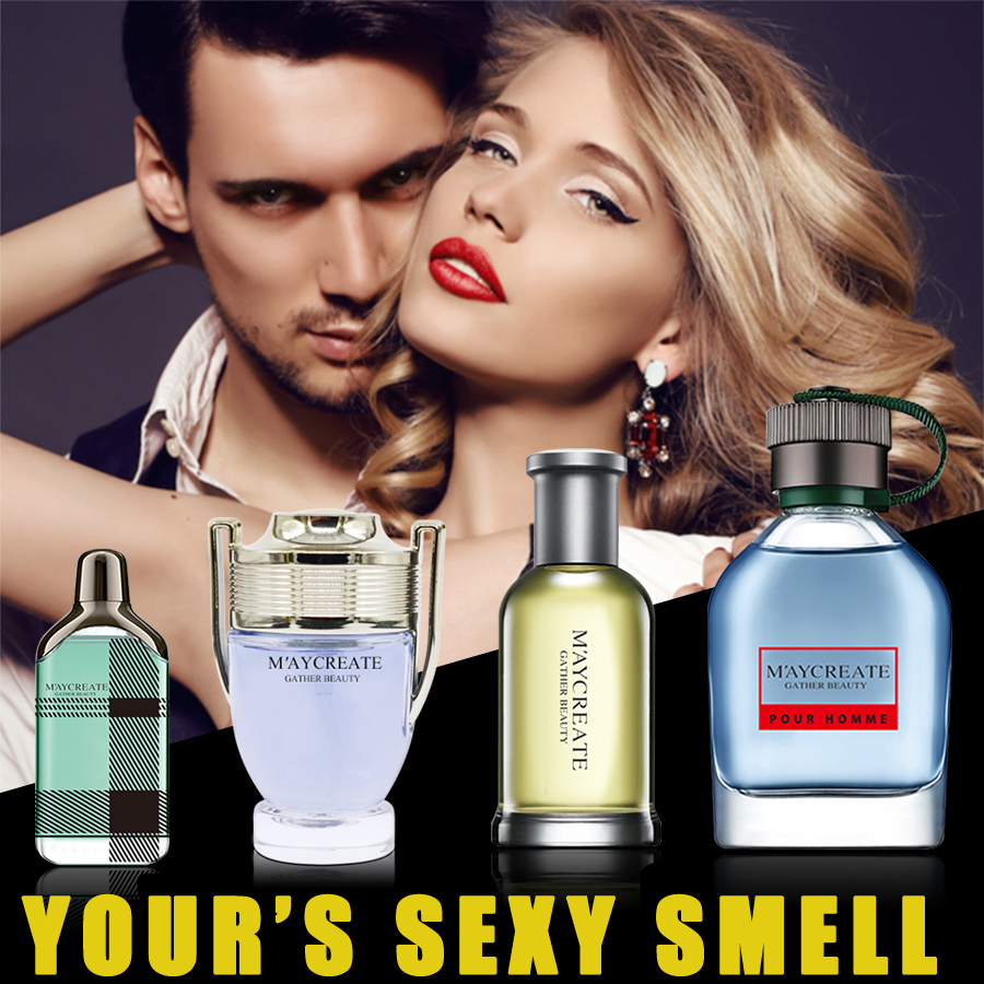 4pcs Maycreate branded fragrances for mens gift packing pher