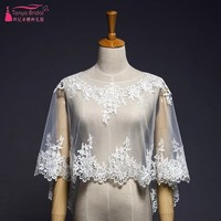 The New Lace shawl cloak Spring summer and autumn Jacket Wrap Wedding dress cover arm shawl DQG404