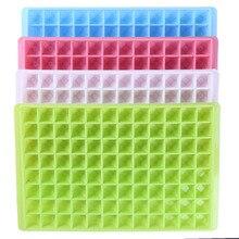 96 трубок, сделай сам, креативный кубик льда, силиконовый лоток для льда, кубик для льда, бар, кухонные принадлежности, инструменты, форма для льда