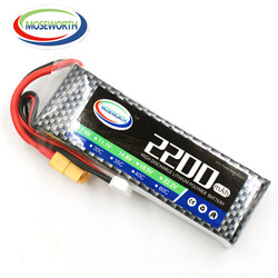 MOSEWORTH 3S 11.1v 2200mAh 25C RC Lipo battery For helicopter car boat quadcopter batteria cell AKKU