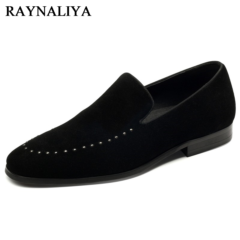 New Spring Autumn Men Party Shoes Personal Slip On Black Color Fashion Men Driving Shoes Genuine Leather Formal Shoes YJ-A0033 2015 new spring and summer british top fashion leisure driving full grain embossed genuine leather slip on men s loafers shoes