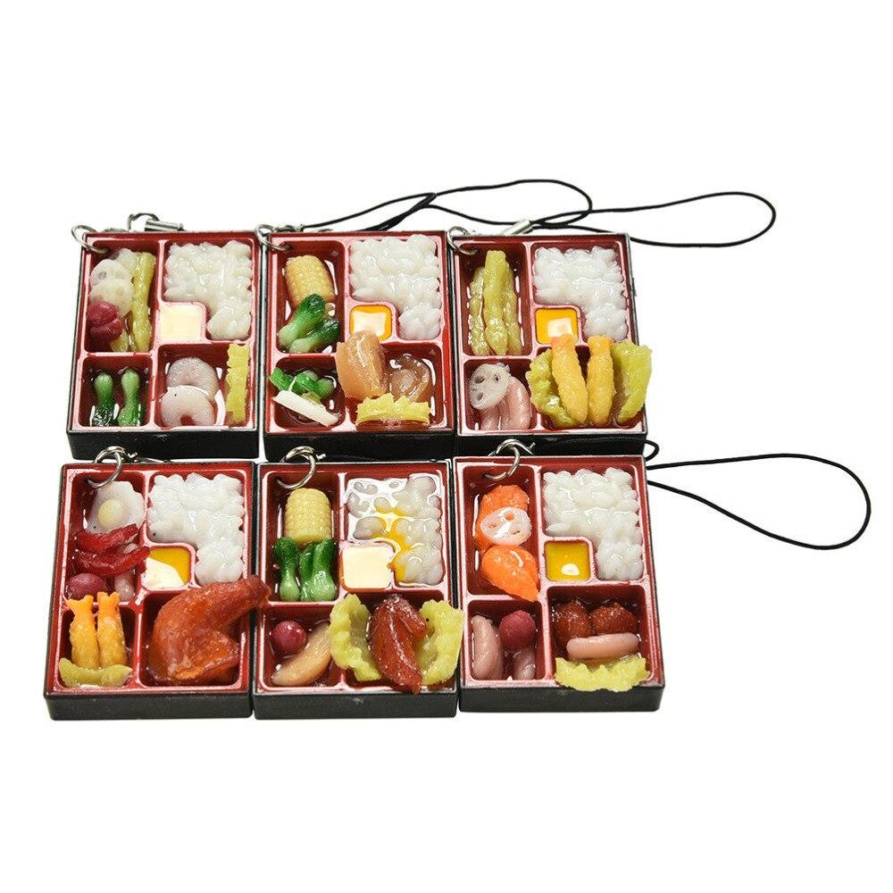 1 Pc Neue Japanische Lebensmittel Simulation Sushi Lanyard Spielhaus Küche Spielzeug Lustige Spielwaren Pretend Frühen Pädagogisches Spielzeug Schlüssel Ringe ZuverläSsige Leistung