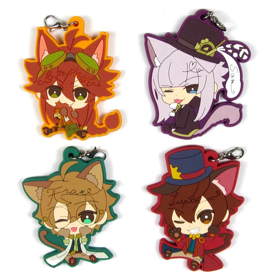 Code Realize Anime Victor Frankenstain Saint-Germain Impey Barbicane Beckford Abraham Van Japanese Rubber Keychain блесна forest realize