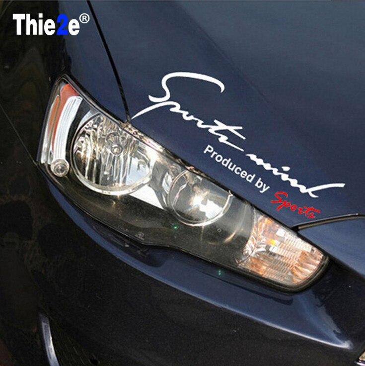 Car Lamp Eyebrow Posted Sports Reflective Sticker for ACURA  EL CSX RLX TLX ZDX SLX Vigor