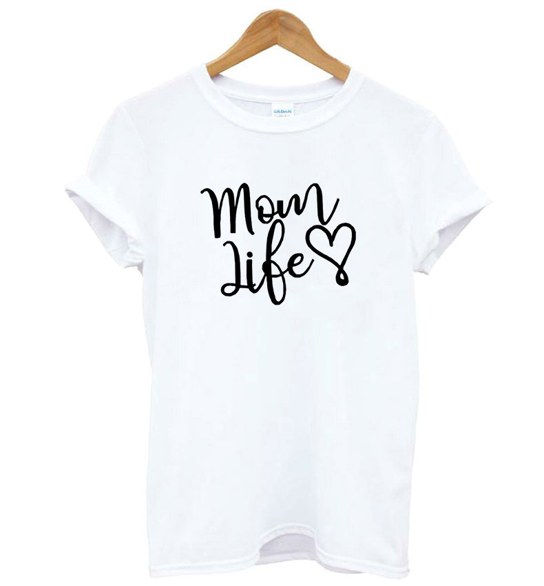 Cute Harajuku <font><b>Bts</b></font> <font><b>Unisex</b></font> Summer Women Men Oversized Short Sleeve T-shirt Mom Like Letters Heart Printed T shirt Female Tops Tees image