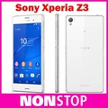 Original D6603 Sony Xperia Z3 Unlocked 5.2 inches 3GB RAM 16GB ROM android smartphone refurbished phone