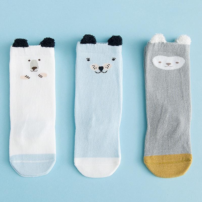 0658fda6f 3 Pairs Baby Knee High Socks Children s Socks Long Winter Clothes  Accessories 0 3T Newborn Baby Girls Boys Leg Warmer A102 Meia-in Socks from  Mother   Kids ...