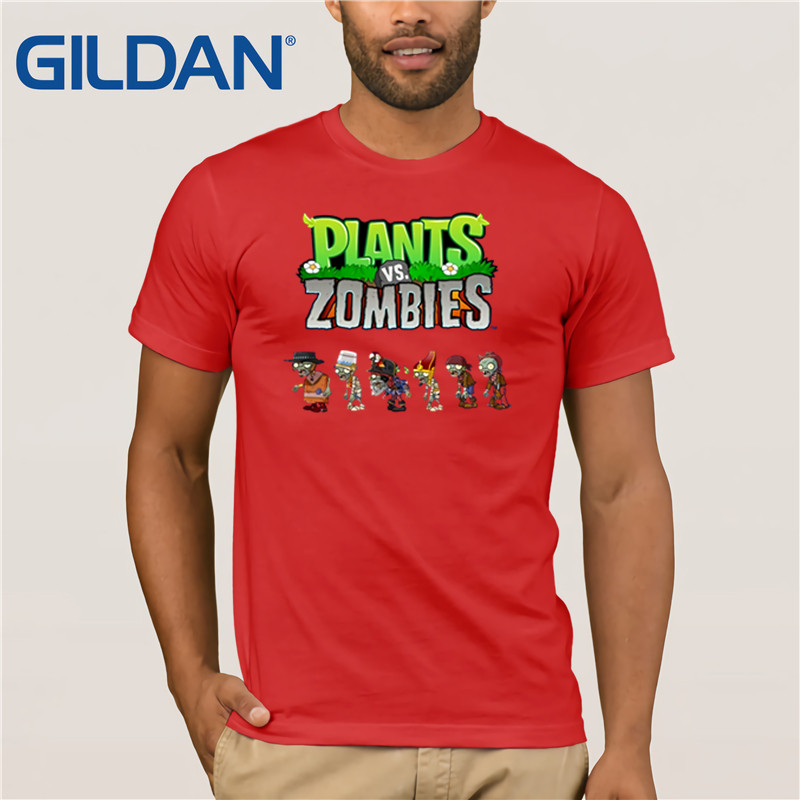 Johngbs Plants Vs Zombies Mens T Shirt Custom Funny Quotes Us Color