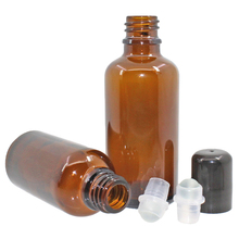 Brown Balls Essential Oil Bottles Beads Perfume Aroma Filling Containers