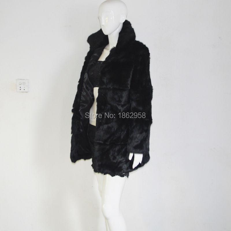 Vente Fourrure Chaude Haut Cream Femmes Lapin Sj062 Col Veste Manteaux De Amérique Odwgzqn8
