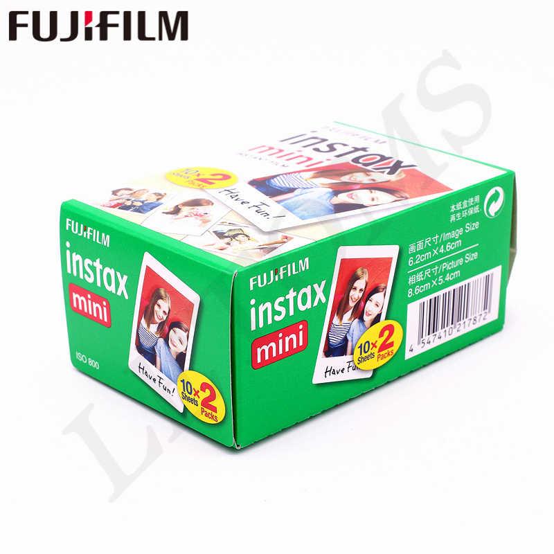 10-200 ورقة فوجي فوجي فيلم instax mini 9 8 فيلم حافة بيضاء اللون Fims للكاميرا instax