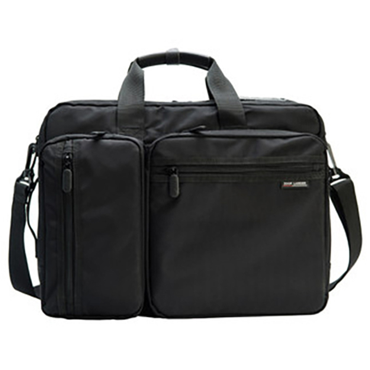 Osmond Men Anti theft Briefcase Expandable Multi pocket Waterproof Laptop Bag Large Capacity Travel Bags Multipurpose Handbags