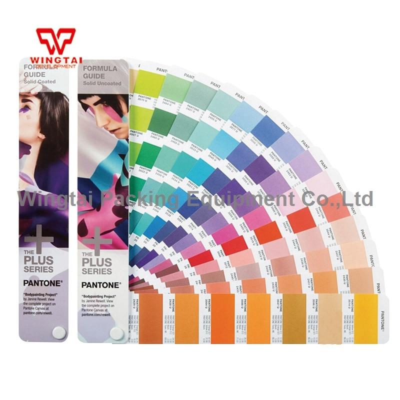 2 Books C U Usa Pantone Colors Book Gp1601n Pantone Color Guide