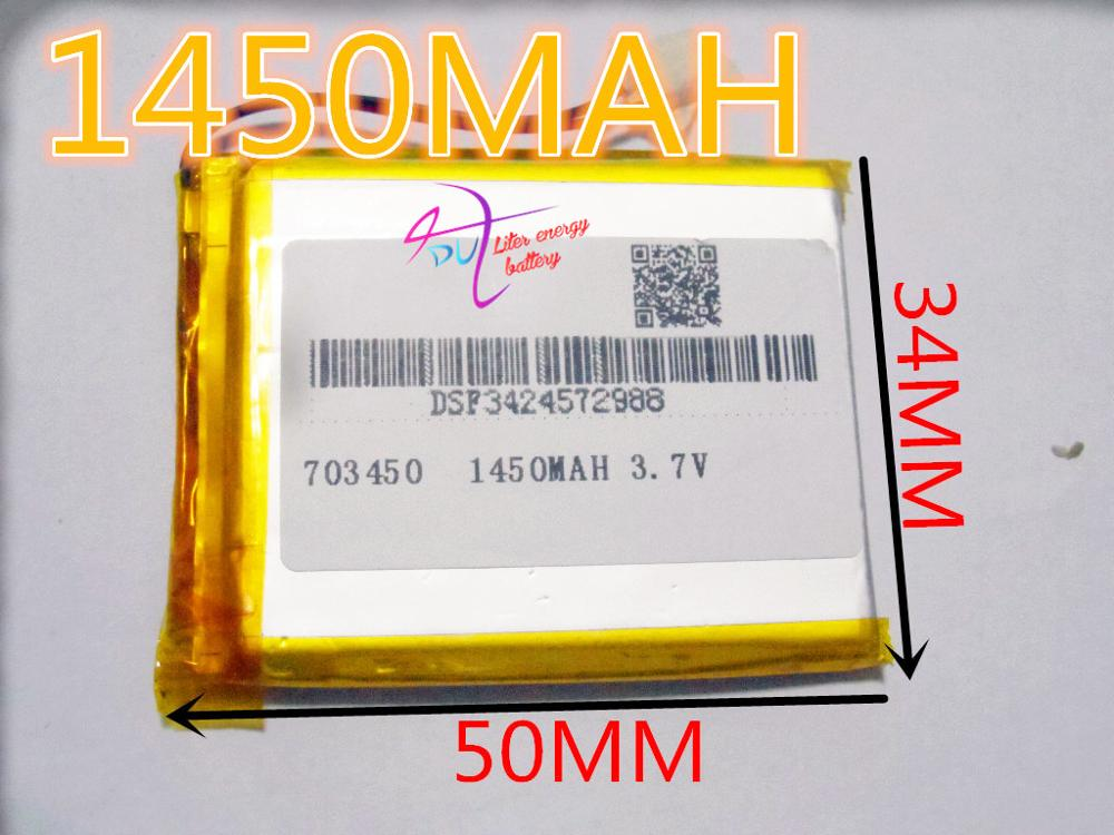 Cheap MP3 battery 3 7V lithium polymer battery 703450 073450 font b GPS b font mobile