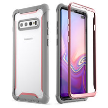 For Samsung S10 Plus Case 6.4 Ares Full-Body Rugged Case wit