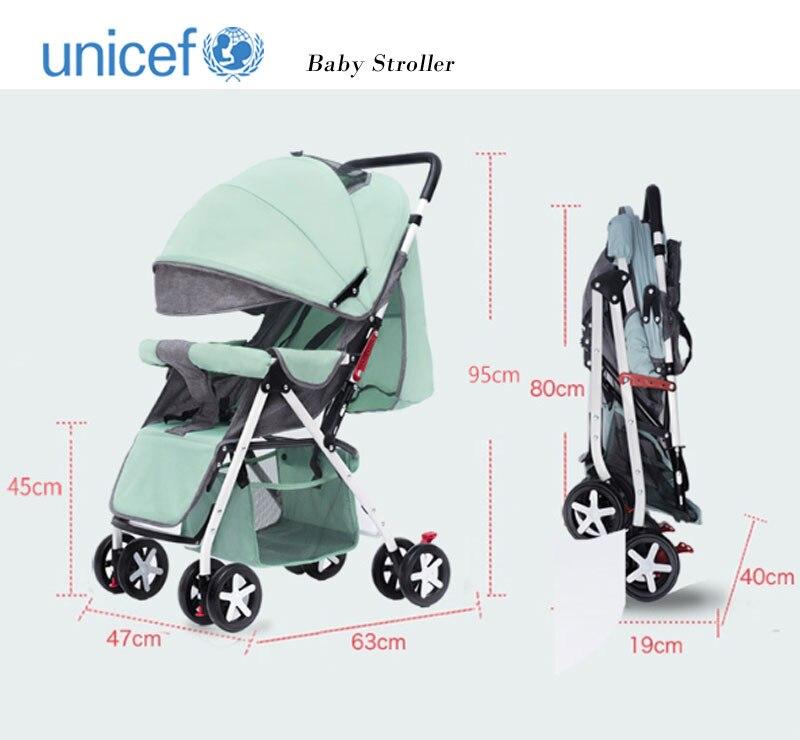 Le chariot de bébé peut être facilement utilisé dans le chariot inclinable de parapluie, le chariot pliant portatif d'enfant, la poussette à quatre roues de bébé