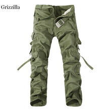 купить Grizzilla Tactical Pants Outdoor Man Hiking pants Camouflage Military Army Cargo Pants Men Combat Trousers Trekking Pants по цене 2359.36 рублей