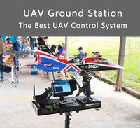 FPV UAV Machine Remote Control X52/X52 Pro /X55 Toy Audio Video UAV Ground Station In Explosion Proof Case