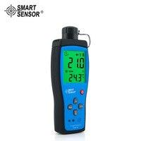 Профессиональная цифровая Smart Сенсор ar8100 ручной точность кислорода детекторы O2 метр