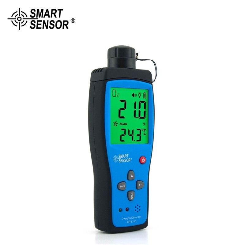 Analysatoren Temperamentvoll Professionelle Digitale Smart Sensor Ar8100 Handheld Präzision Sauerstoff Detektoren O2 Meter ZuverläSsige Leistung