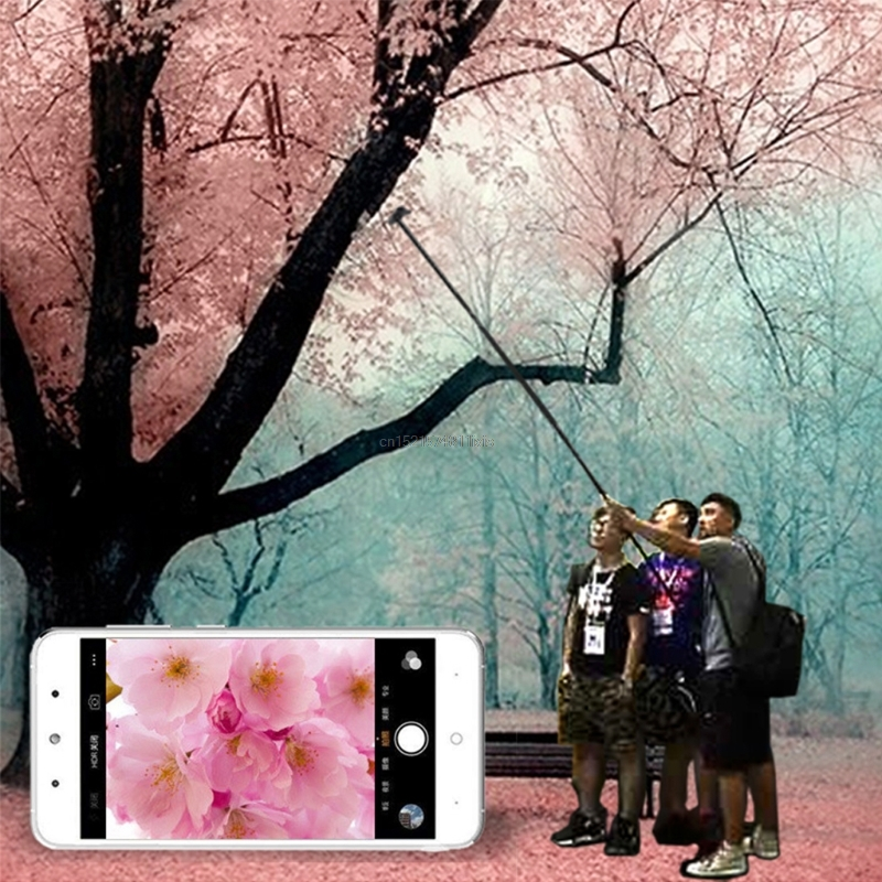1.5m/2m Extendable Selfie Stick Tripod Stand for iPhone iPad DSLR Android Gopro 10