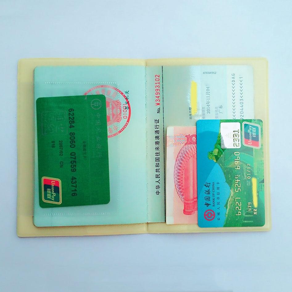 Cartoon Hello Kitty Travel Passport Cover,Business Porte Carte Simple,14*9.6CM ID Card Bag,PVC Leather Credit Card Holder