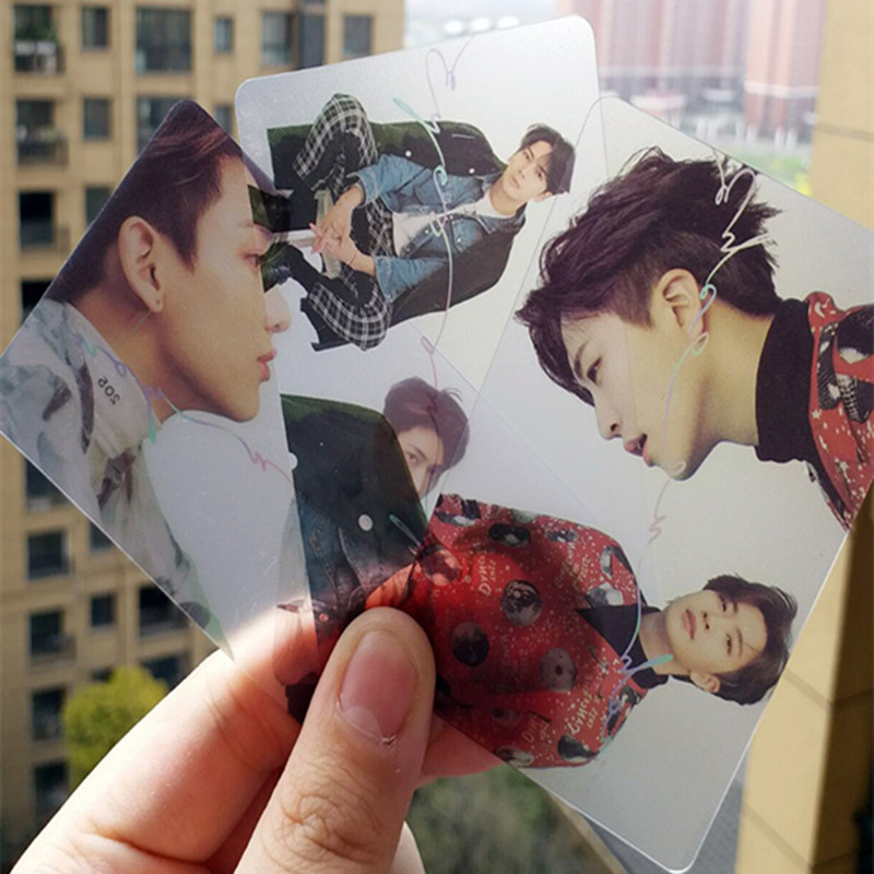 Novelty & Special Use 7pcs/set Got7 Pvc Transparent Lomo Card Eyes On You Hf222 Soft And Light