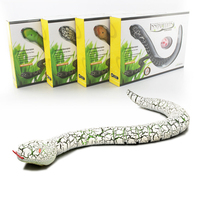Gags Practical Jokes Funny Novelty Toys Infrared Remote Control Rattle Snake Wireless Simulation Animal Snakes Electric