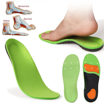Pu Orthopedic Sports Insoles Pads For Shoes Flat Feet Arch Support Correctors Foot Orthotic Insole Shoe Sole Inserts Pad kotlikoff orthopedic insoles 3d eva insoles flat feet arch support shoe inserts for men women shoes orthotic insole foot pad