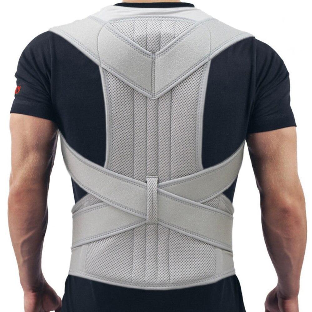 Barra magnética Chaves & Suporte Posture Corrector Back Pain Belt Brace Shoulder Para Mulheres Dos Homens Cuidados de Saúde Postura Banda Ajustável