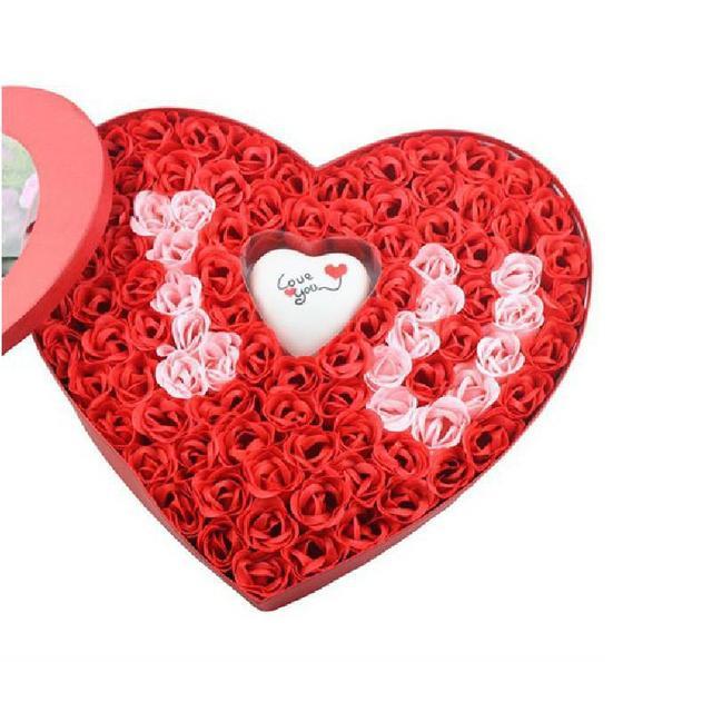 Detalles boda regalos jabones psoriasis 100 pcs romantic gift detalles boda regalos jabones psoriasis 100 pcs romantic gift light i love u rose soap bath negle Image collections