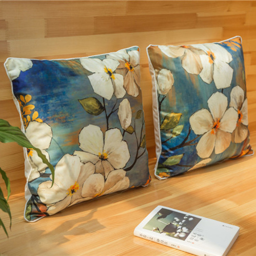 30*50cm High quality luxury velvet fabric soft bronzing cushion covers Throw pillow case decorate for a sofa seat car