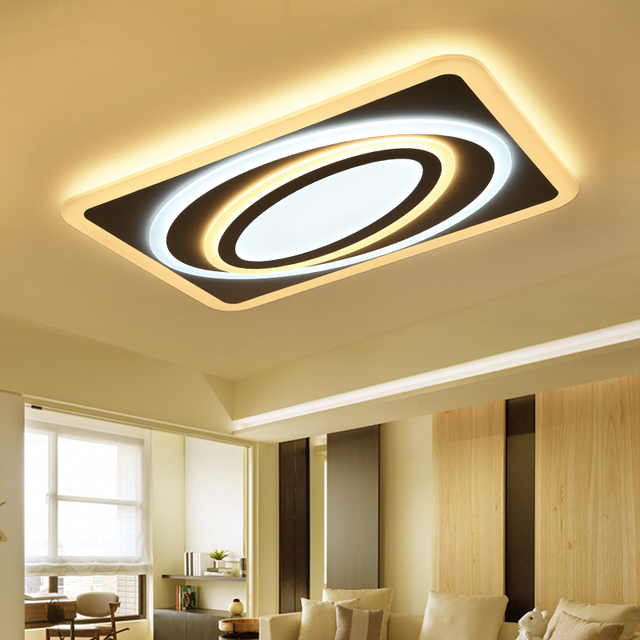 Euignis 110 220v Acryl Ceiling Lights Plafonnier Led Moderne Plafon Lampara Techo Led Fixture Modern Salon.jpg 640x640 5 Superbe Plafonnier Salon Moderne Gst3