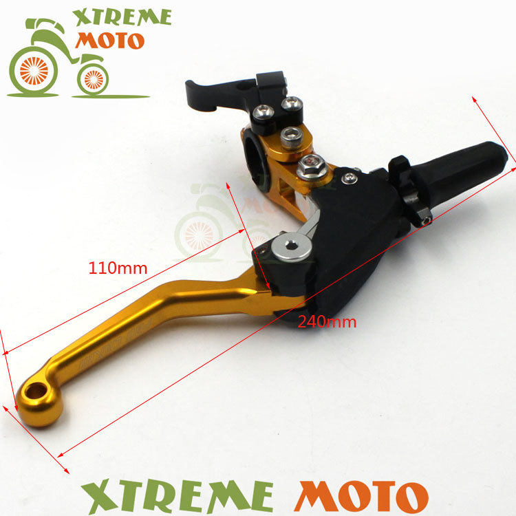 CNC Billet Pivot Foldable Clutch Lever Perch For Suzuki  RM85 125 250 RMZ250 450 RMX250 DR250 DRZ400 S SM DR650 Motocross